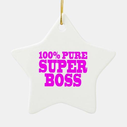Regalos rosados frescos para los jefes: El 100% Bo Ornamento Para Reyes Magos