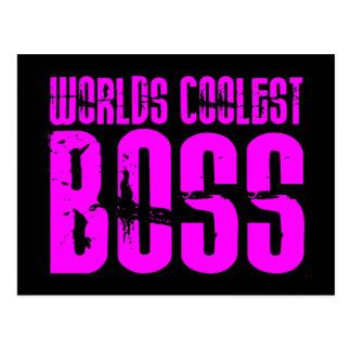 Regalos rosados frescos para los jefes: Mundos Postal