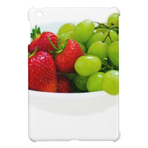 Regalos sanos del destino de la ensalada de fruta iPad mini cárcasas
