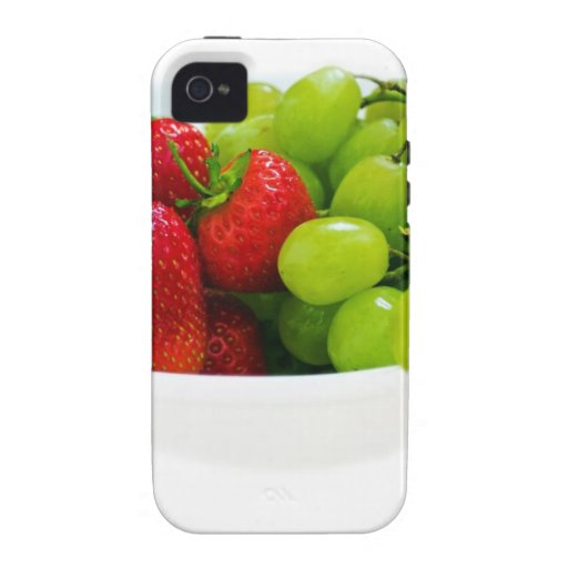 Regalos sanos del destino de la ensalada de fruta iPhone 4/4S carcasa
