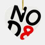 Regalos satíricos NOD8 Ornamento Para Arbol De Navidad