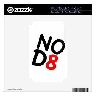 Regalos satíricos NOD8 Skins Para iPod Touch 4G