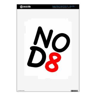 Regalos satíricos NOD8 iPad 3 Pegatinas Skins