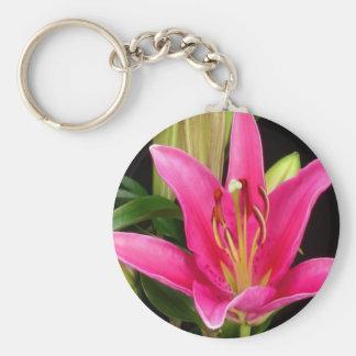 Regalos sensuales de las flores baratas románticas llavero redondo tipo pin