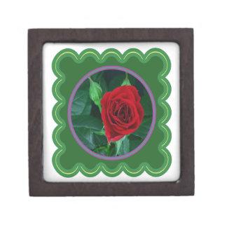 Regalos sensuales florales de la imagen 100 de la caja de recuerdo de calidad