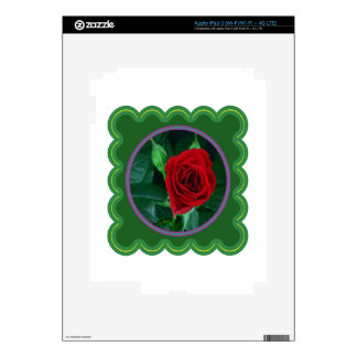 Regalos sensuales florales de la imagen 100 de la iPad 3 pegatina skin