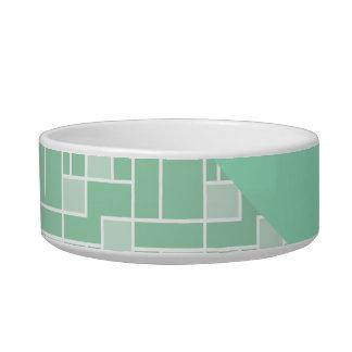 Regalos suaves bonitos del modelo de la teja de la tazón para comida gato