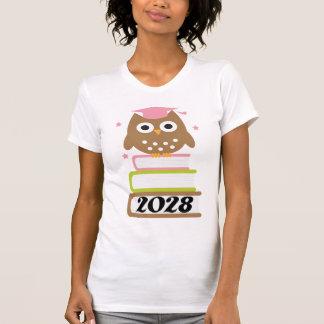 Regalos superiores 2028 de la graduación camiseta