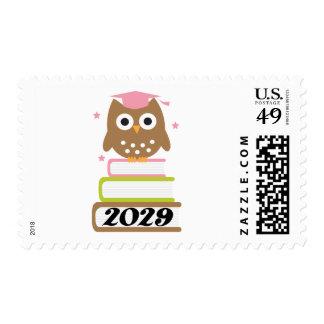 Regalos superiores 2029 de la graduación timbre postal