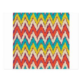 Regalos tribales aztecas personalizados del modelo postales