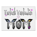Regalos turcos de la mamá del gato de Vankedisi Tarjeta