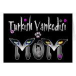 Regalos turcos de la mamá del gato de Vankedisi Felicitacion