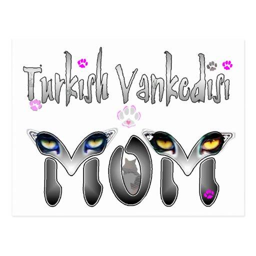 Regalos turcos de la mamá del gato de Vankedisi Tarjetas Postales