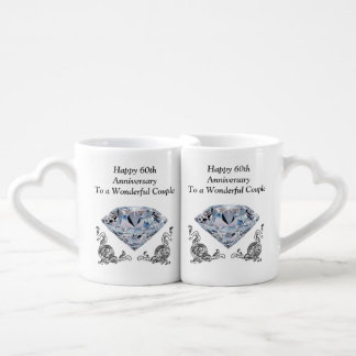 Regalos únicos baratos del aniversario de boda de taza para enamorados