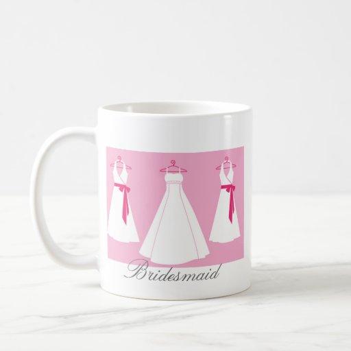 Regalos únicos de la dama de honor taza clásica