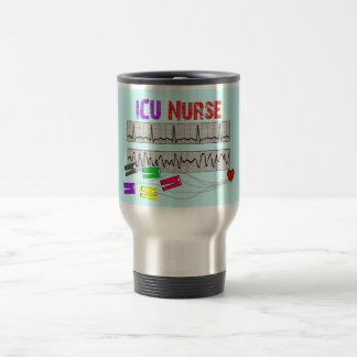 Regalos únicos de la enfermera del diseño ICU Tazas De Café