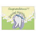 Regalos únicos del ayudante de dentista felicitaciones