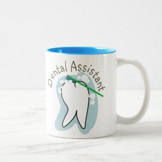 Regalos únicos del ayudante de dentista tazas