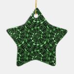 Regalos verdes INFINITOS orgánicos 101 del AMOR de Ornamento De Navidad