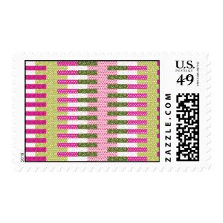 Regalos verdes rosados bonitos del diseño del envio