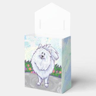 Regalos y accesorios blancos de Pomeranian Caja Para Regalos De Fiestas