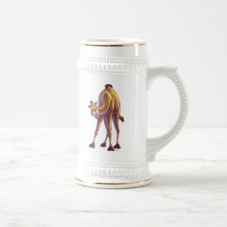 Regalos y accesorios del camello jarra de cerveza