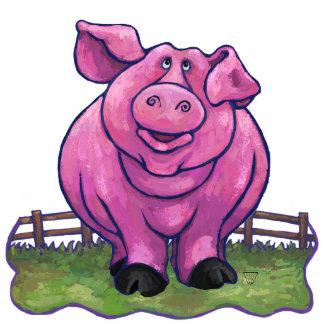 Regalos y accesorios del cerdo escultura fotografica