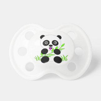 Regalos y accesorios del diseño del oso de panda chupete de bebé