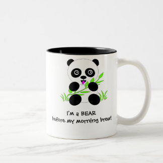 Regalos y accesorios del diseño del oso de panda taza