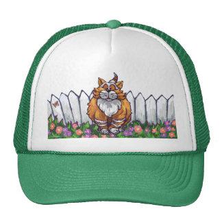 Regalos y accesorios del gato del jengibre gorro de camionero