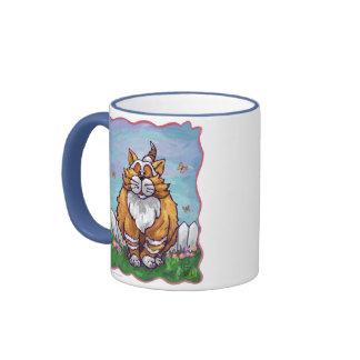 Regalos y accesorios del gato del jengibre tazas