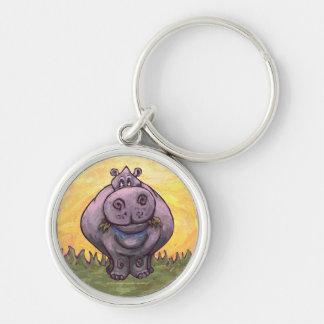 Regalos y accesorios del Hippopotamus Llaveros