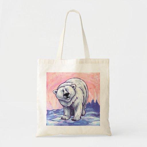 Regalos y accesorios del oso polar bolsas