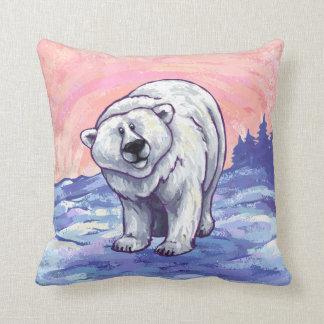 Regalos y accesorios del oso polar cojines