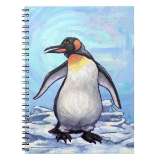 Regalos y accesorios del pingüino cuadernos
