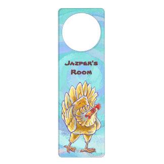 Regalos y accesorios del pollo colgantes para puertas