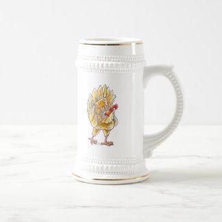 Regalos y accesorios del pollo jarra de cerveza
