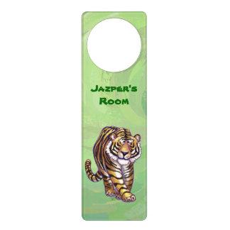 Regalos y accesorios del tigre colgantes para puertas