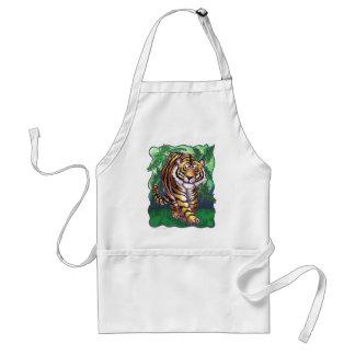 Regalos y accesorios del tigre delantal