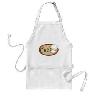 Regalos y camisetas adaptables del cocinero delantal
