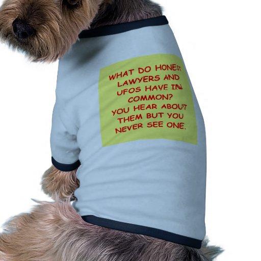 regalos y camisetas del chiste del abogado camisetas de perrito