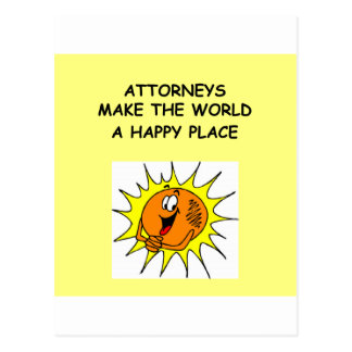 regalos y camisetas del chiste del abogado postal