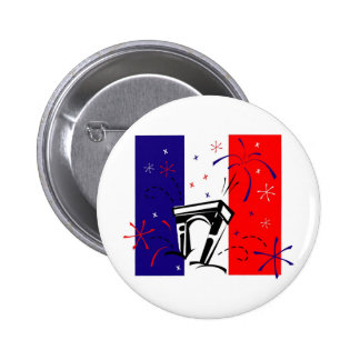 Regalos y camisetas del día de Bastille (4) Pins