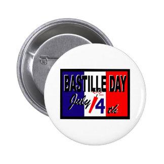 Regalos y camisetas del día de Bastille (5) Pin