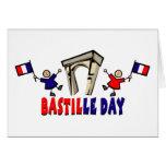 Regalos y camisetas del día de Bastille (6) Tarjeta