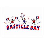 Regalos y camisetas del día de Bastille Postal