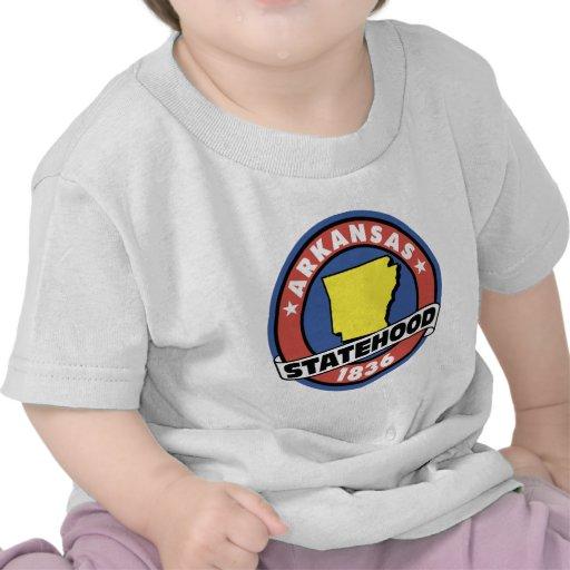 Regalos y camisetas del Statehood de Arkansas