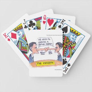 Regalos y camisetas divertidos de la fusión de Rom Cartas De Juego