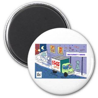 Regalos y camisetas divertidos del dibujo animado iman para frigorífico
