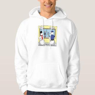 Regalos y camisetas Noseless del sospechoso del Jersey Encapuchado